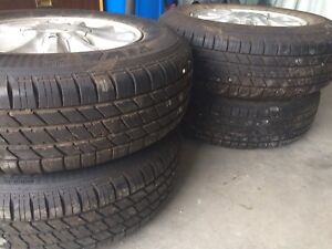 Tires for 99 Ford Windstar