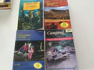 Assorted camping books Leda Kwinana Area Preview