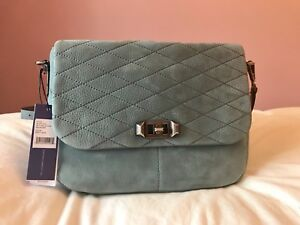 NWT Rebecca Minkoff Medium Blue Je T'aime Messenger Bag