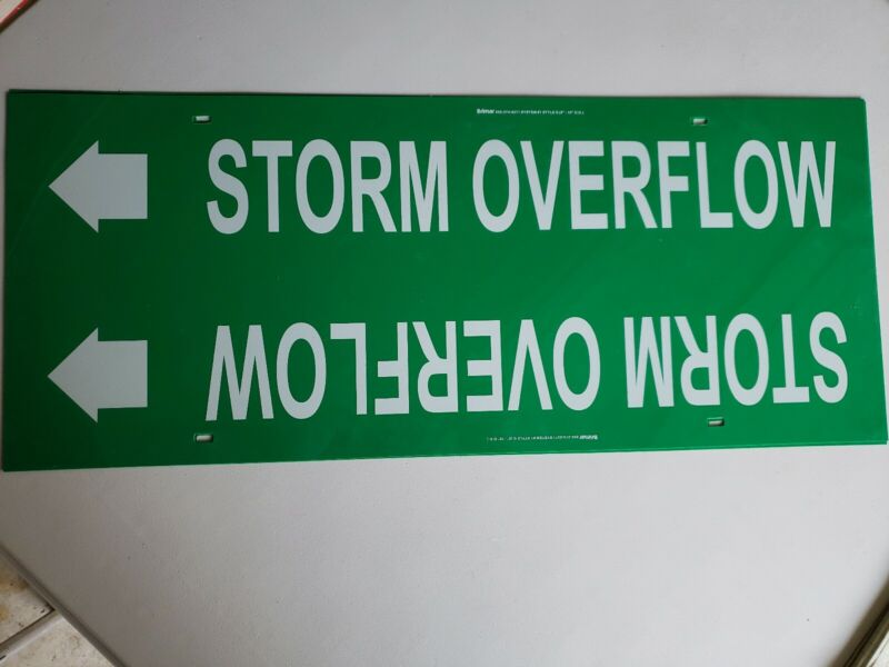 Storm Overflow Pipe Markers