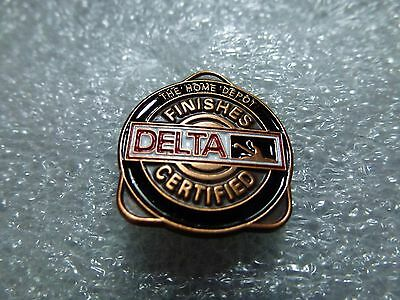 THE HOME DEPOT DELTA PRODUCT CERTIFIED  PIN Blue Gold White Red