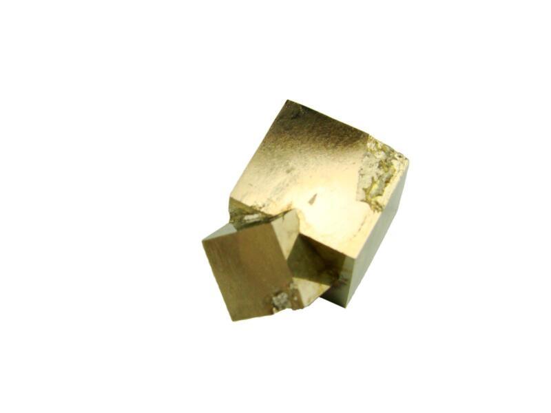 Navajun Spain Mine - Pyrite Cube Crystal With Display Case-#PC4