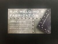 Stationary & Mobile Welding! Bancroft and area - *Jamie Koster*
