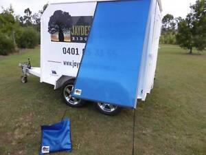PREMIUM Caravan Fridge / Window Shade PACIFIC BLUE Childers Bundaberg Surrounds Preview