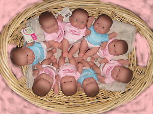 1-8-Lots-to-love-Miniature-Baby-Doll-4-Reborn-Play-Crochet-Berenguer-Chubby-New