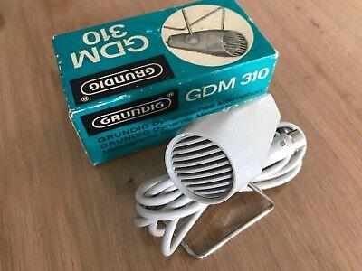 Grundig GDM 310 Mikrofon 1960er Jahre Retro in OVP