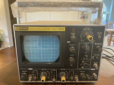Vintage Bk Precision 30mhz Oscilloscope Model 1474