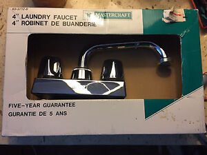 Mastercraft 4 inch laundry faucet