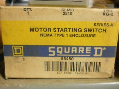 Square D Motor Starting Switch 55450