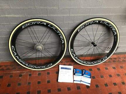 Campagnolo Bora Ultra 50 Tubular Road Bike Wheels & Tyres