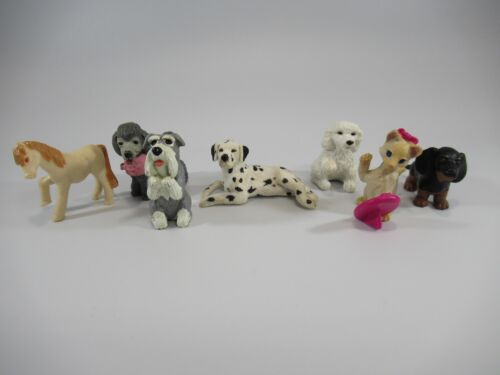 Vintage Puppy + Kitty In My Pocket Figures M.E.G. 1994-1996