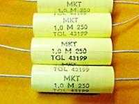 TONFREQUENZ   13463 2x MONACOR KONDENSATOR MKT 6,8uF 250V
