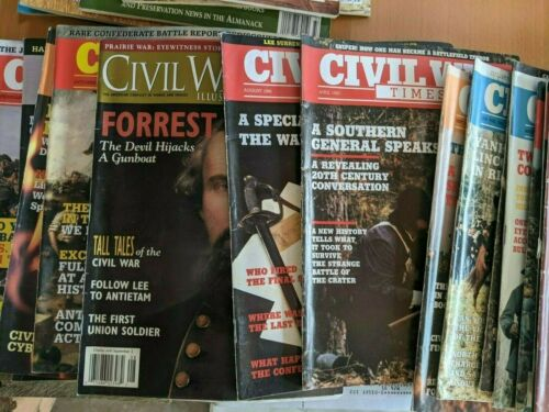 Civil War Times  Illustrated + other mags - large lot (46)