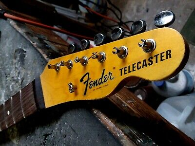 Fender Lic Relic TELE neck Aged Nitro 69 70's Telecaster Mr G's Customs Allparts