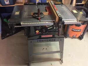 Craftsman Table Saw 10""
