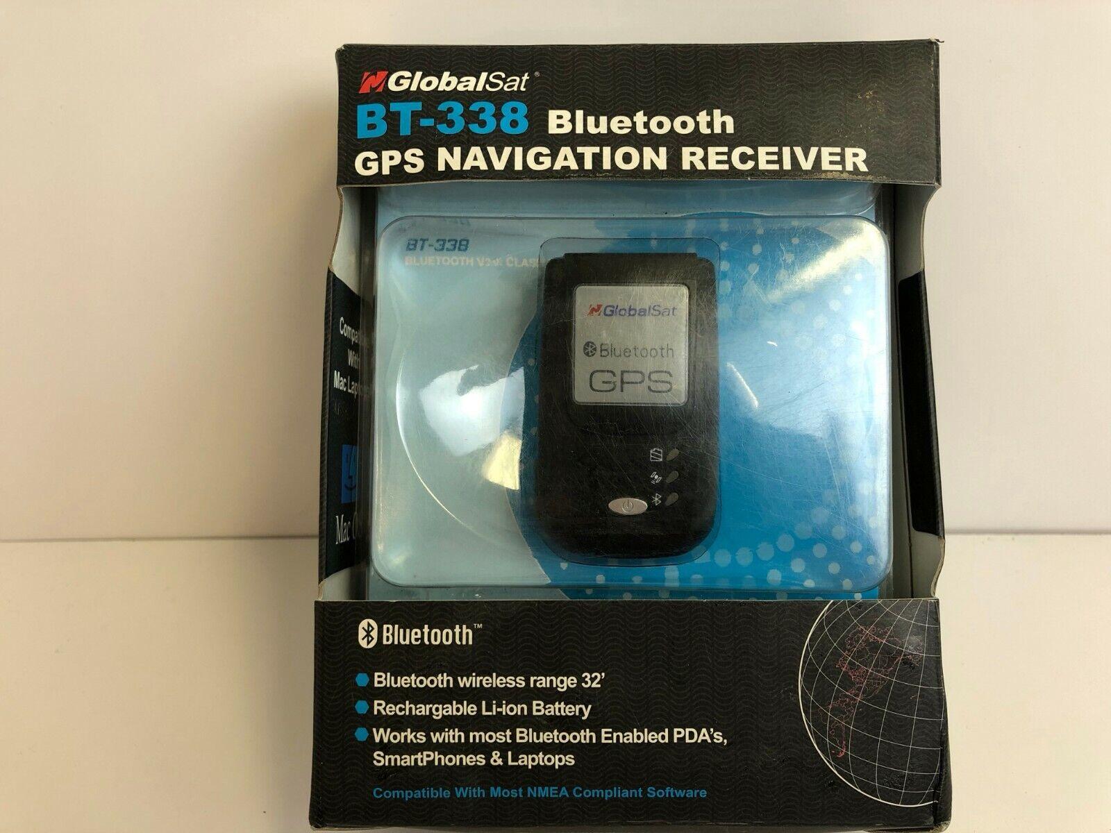 GlobalSat BT-338 GPS Bluetooth Receiver SiRF