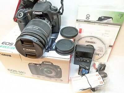 MINT - Canon EOS 60D Camera + 18-200mm IS Lens Kit - LOW 2,541 SHUTTER COUNT