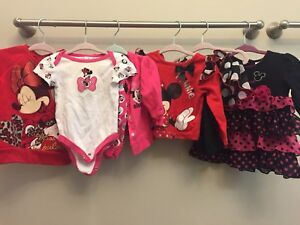 Minnie Mouse clothing lot