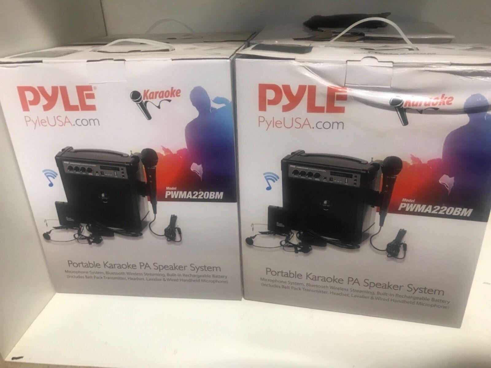 Pyle PWMA220BM Portable Karaoke PA Speaker System