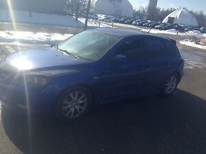Mazda3 2007. Lowered. Safety. Etest. New clutch