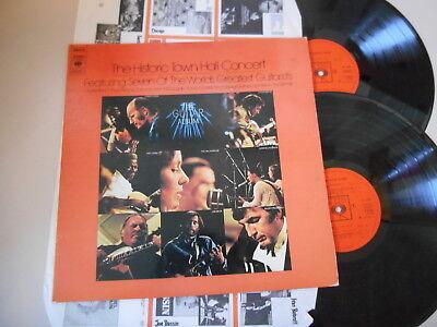 LP VA The Guitar Album : Historic Town Hall Concert 2LP (22 Song) CBS REC