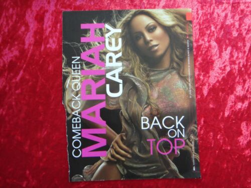 MARIAH CAREY Magazine page clipping / MINI POSTER 90