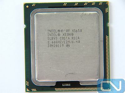 Intel Xeon X5650 2.66GHz 12MB 6.4GT/s SLBV3 LGA1366 Server CPU *Read Description