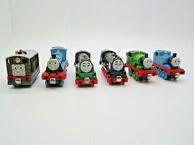 Thomas the Trains Die Cast Metal Railroad lot of 6 trains + tender