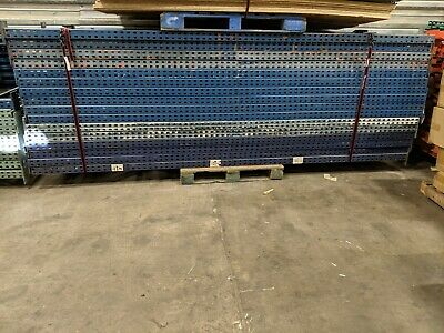 Tear Drop Pallet Rack Lot - One 42x12 Upright And Four 8 Cross Beams