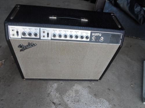 Vintage 1969  Fender Scorpio Alligator Tolex Amplifier