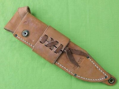 US Custom Made RUANA Montana Standard Bowie Knife Leather Sheath Scabbard Case