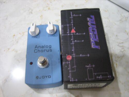 Joyo JF-37 Analog Chorus Guitar Pedal w/ True Bypass & BBD Chip