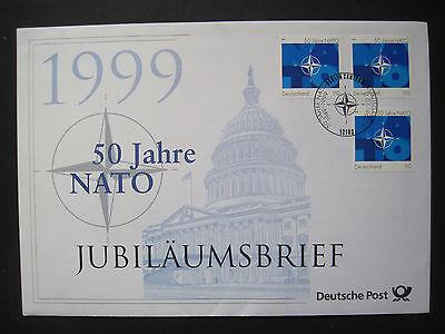 Jubiläumsbrief der Deutschen Post 1999 50 Jahre NATO   (K 066)