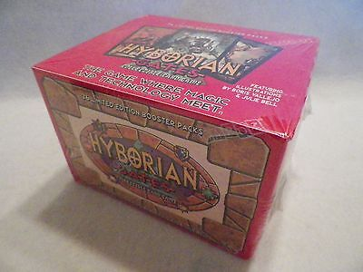 Hyborian Gates - 1995 36 Booster Packs,CARDZ Collectible Card Game. Boris Vallej