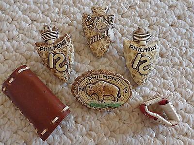B.S.A. Neckerchief Slides Philmont Scout Ranch Vintage Collectibles (#1629)