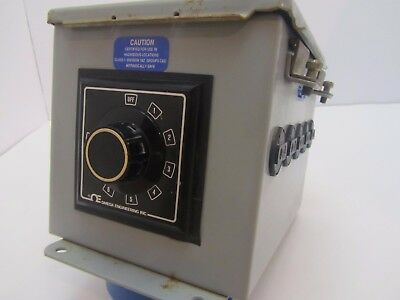 Omega Engineering 8 Position Switch In Hoffman A-8066ch Type 12 Enclosure
