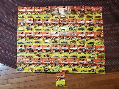Vintage Lot of (50) NEW Matchbox from 1990-95 ? NEW Mint in Packages Tyco Toys