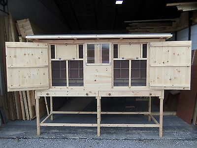 BIRMINGHAM ROLLERS RACING PIGEONS TIPPLERS DOUBLE KIT BOX LOFT SHED