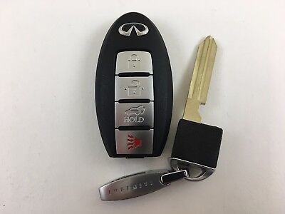 INFINITI QX56 08-10 SMART KEY LESS ENTRY WITH UNCUT INSERT REMOTE OEM USA CAR