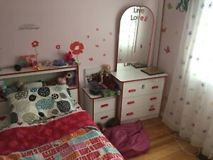 6 pieces kids bedroom set
