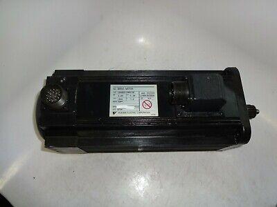 Yaskawa Usaged-09as1se Servo Motor .85 Kw Utmah-b15asb 15 Bit Encoder
