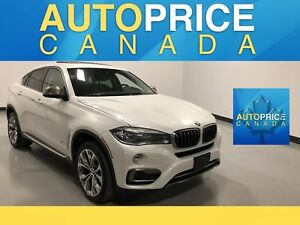 2015 BMW X6 xDrive35i NAVIGATION|PANOROOF|LEATHER