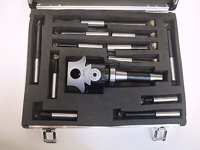 "3"" Boring Head, R8 Shank & 3/4 Boring Bar Set Combo"