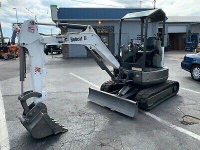 2017 Bobcat E26 Compact Track Excavator 1320hrs