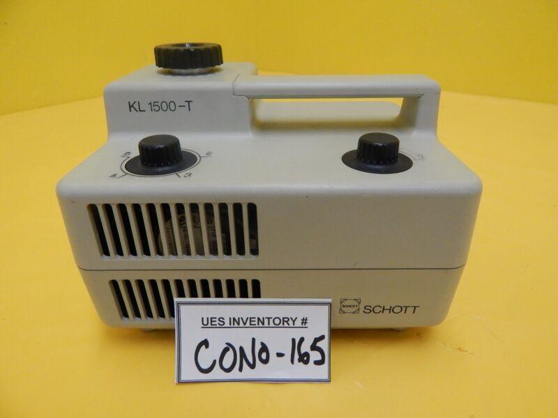 Schott KL1500-T Fiber Optic Light Source Used Working