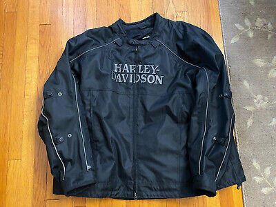 Harley Davidson Riding Jacket 5XL Great Condition Preowned Liner Breathable