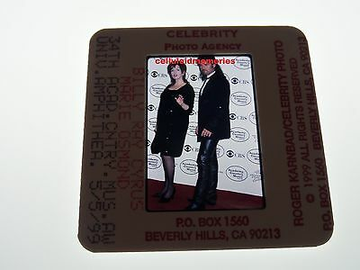Original Photo 35mm Slide Billy Ray Cyrus & Marie Osmond # 10