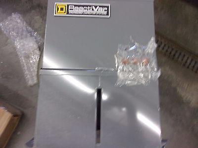 Square D Power Factor Correc Capacitor Pfcd2004f Pfcd 240v 4k Var T-112 Fused