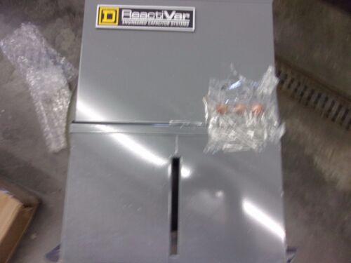 SQUARE D POWER FACTOR CORREC CAPACITOR PFCD2004F PFCD 240V 4K VAR T-1/12 FUSED