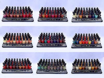 100 nail varnish + display tray jr beauty WHOLESALE MAKEUP JOB LOT POLISH NEW UK